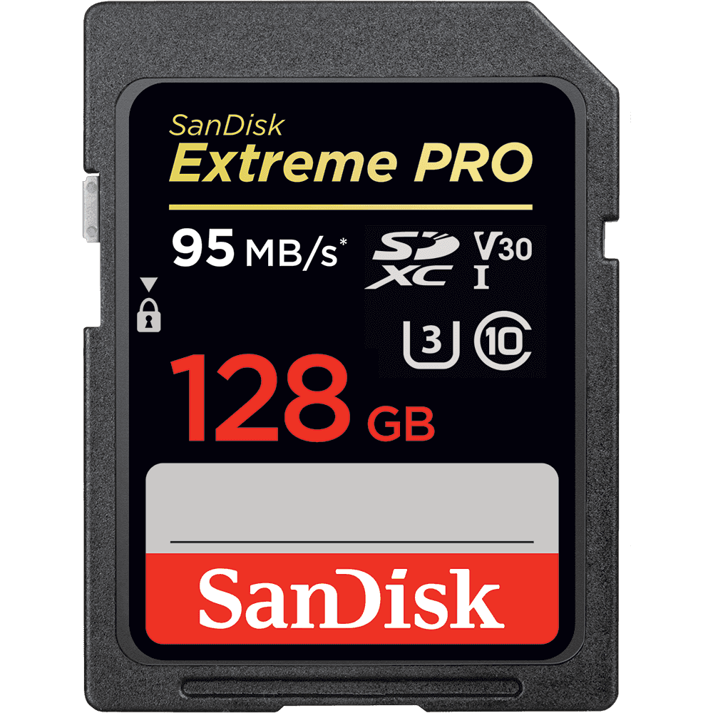 Schede di memoria SanDisk Extreme PRO<sup>®</sup> SDHC™/SDXC™ UHS-I