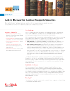 Alibris Throws the Book at Sluggish Searches