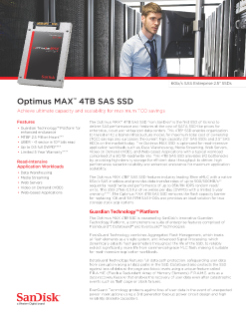 Optimus MAX™ 4TB SAS SSD